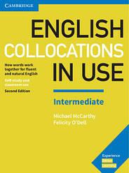 English Collocations in Use Second Edition Intermediate з відповідями