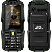 Прочный мобильный телефон Land Rover F8   2 сим,2,4 дюйма,2 Мп,8800 мА/ч.