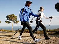 Палки телескопические для скандинавской ходьбы