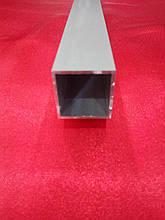 Квадратная анодированная труба 25*25*1,5 мм