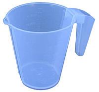 """Кружка мерная пластиковая 1,2 литра """"Юнипласт"""""""