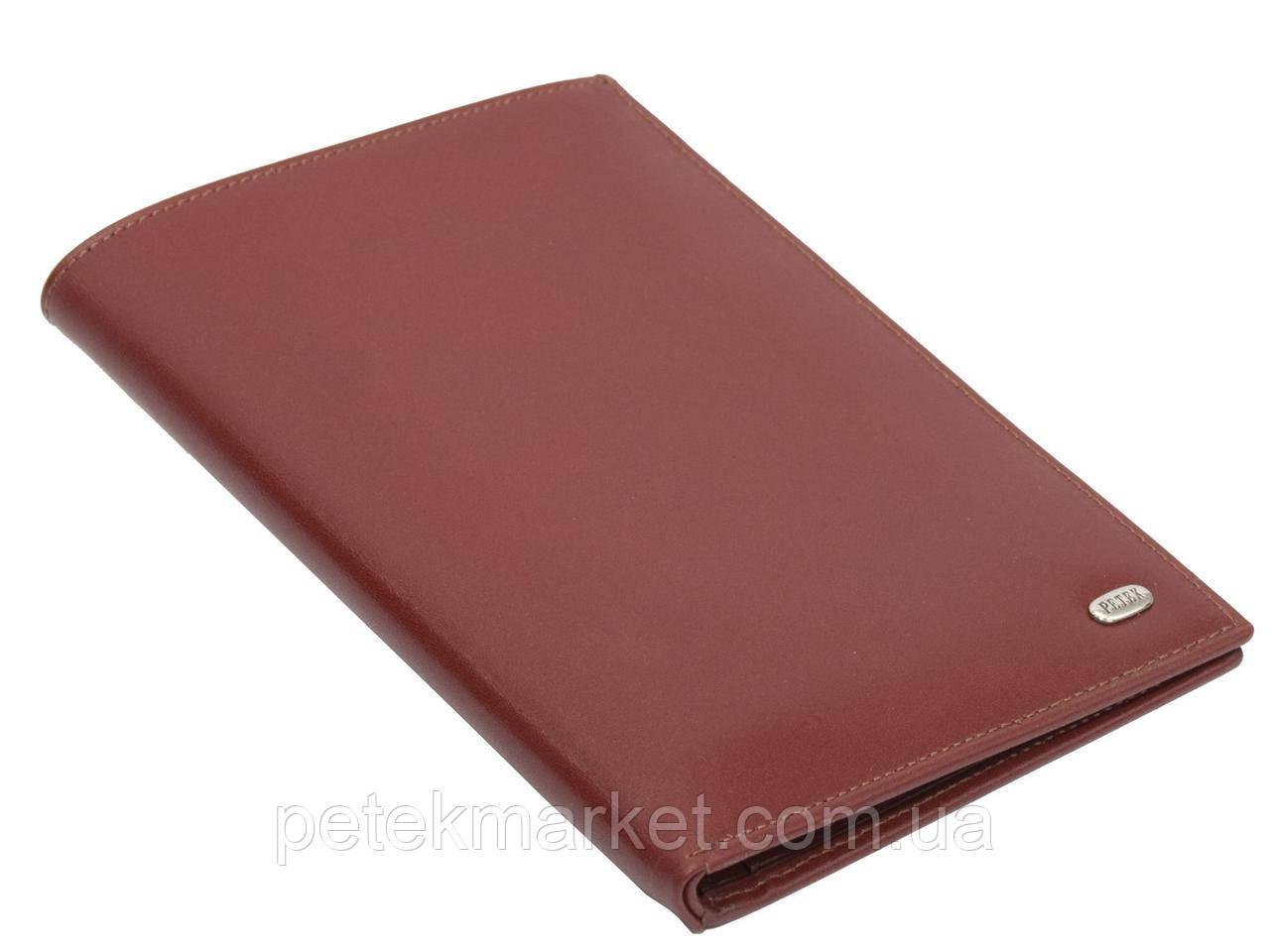 Мужской бумажник из натуральной кожи Petek 144-W04-W04