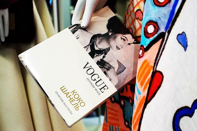 Книги и модных дизайнерах журнала Vogue