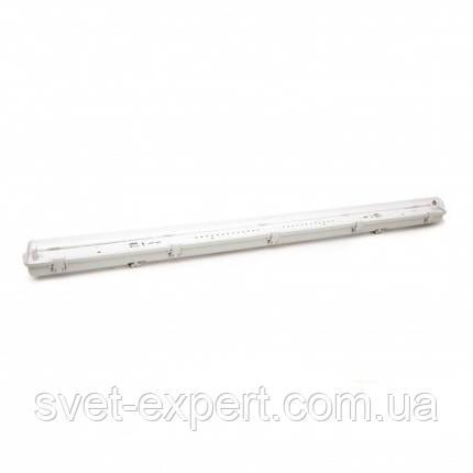 Светильник промышленный / пылевлагозащищенный ЛППс LED лампой 18W IP65 4000K 1*1200мм , фото 2
