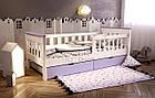 Кровать подростковая от 3 лет с бортиками Infiniti, фото 5