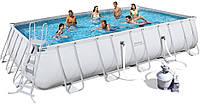 Прямоугольный каркасный бассейн Bestway 671х366х132 см (56471)