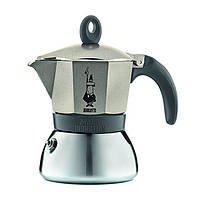 Гейзерная кофеварка Bialetti Moka Express Induction 180 мл (0004832)