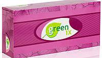 """Бумажные салфетки двухслойные белые 100% целлюлоза """"Green ix"""". В упаковке 80 штук"""