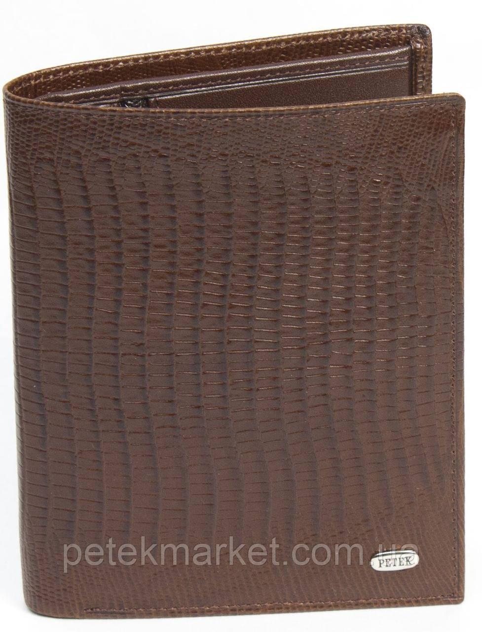 Кожаное мужское портмоне Petek 135