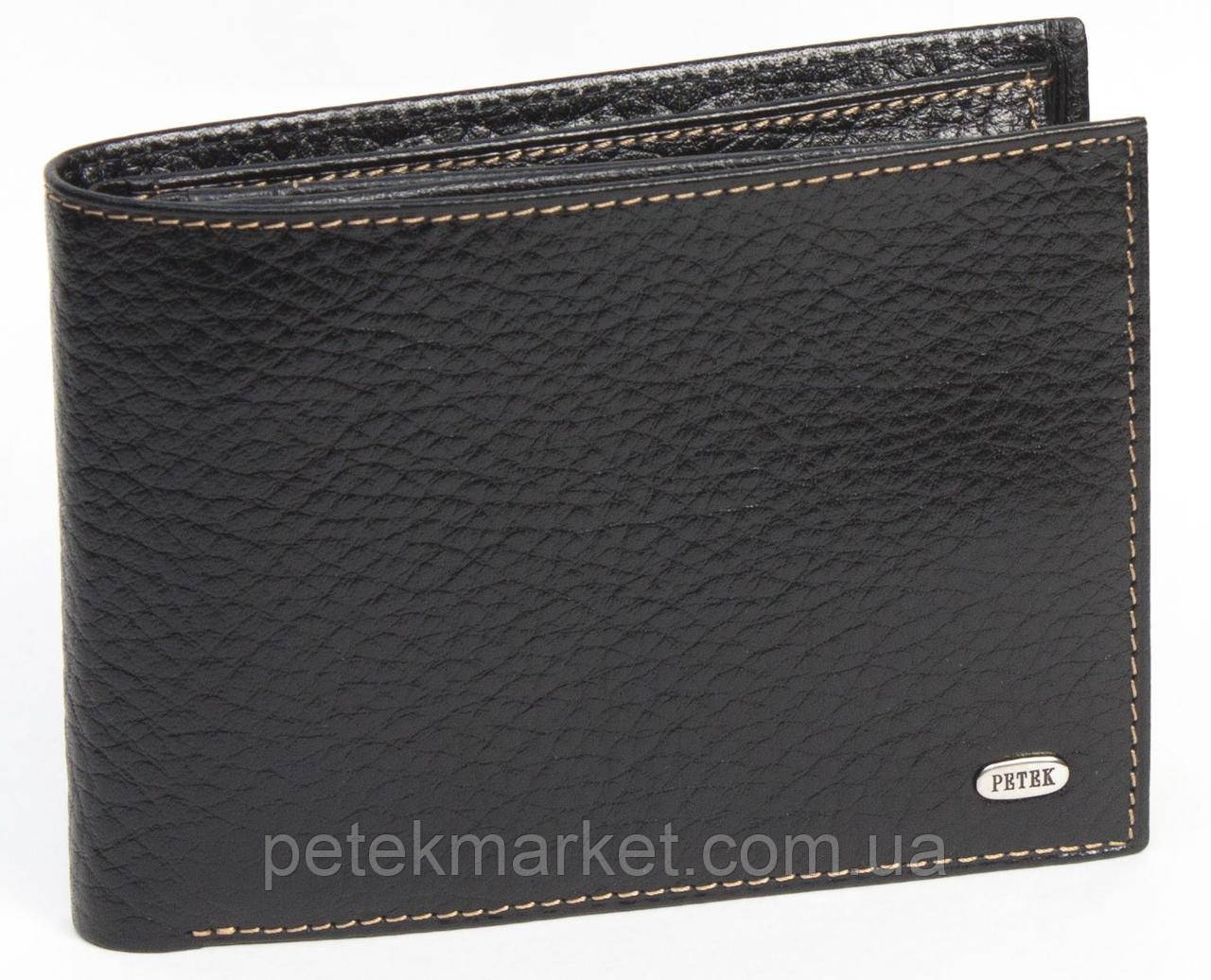 Кожаное мужское портмоне Petek 134