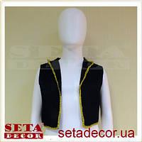 Прокат жилетка пиратская детская 30 см, синт. ткань
