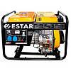 Трехфазный дизельный генератор ESTAR S6500E3 (5,5 кВт)