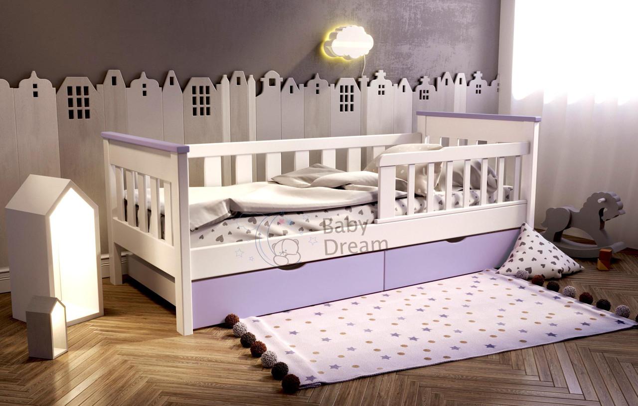 Кровать подростковая с бортиками от 3 лет Infiniti Baby Dream