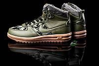 Мужские зимние кроссовки Nike Lunar Force - Green 40