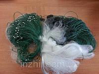 Рыболовная сеть Китайка 1.8 х 100м Ячейка 16мм Одностенка (Дробинка)