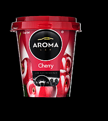 Aroma Car Cup Gel 130g - CHERRY