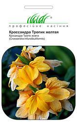 Семена кроссандры Тропик желтая 4 шт, Pan American flowers
