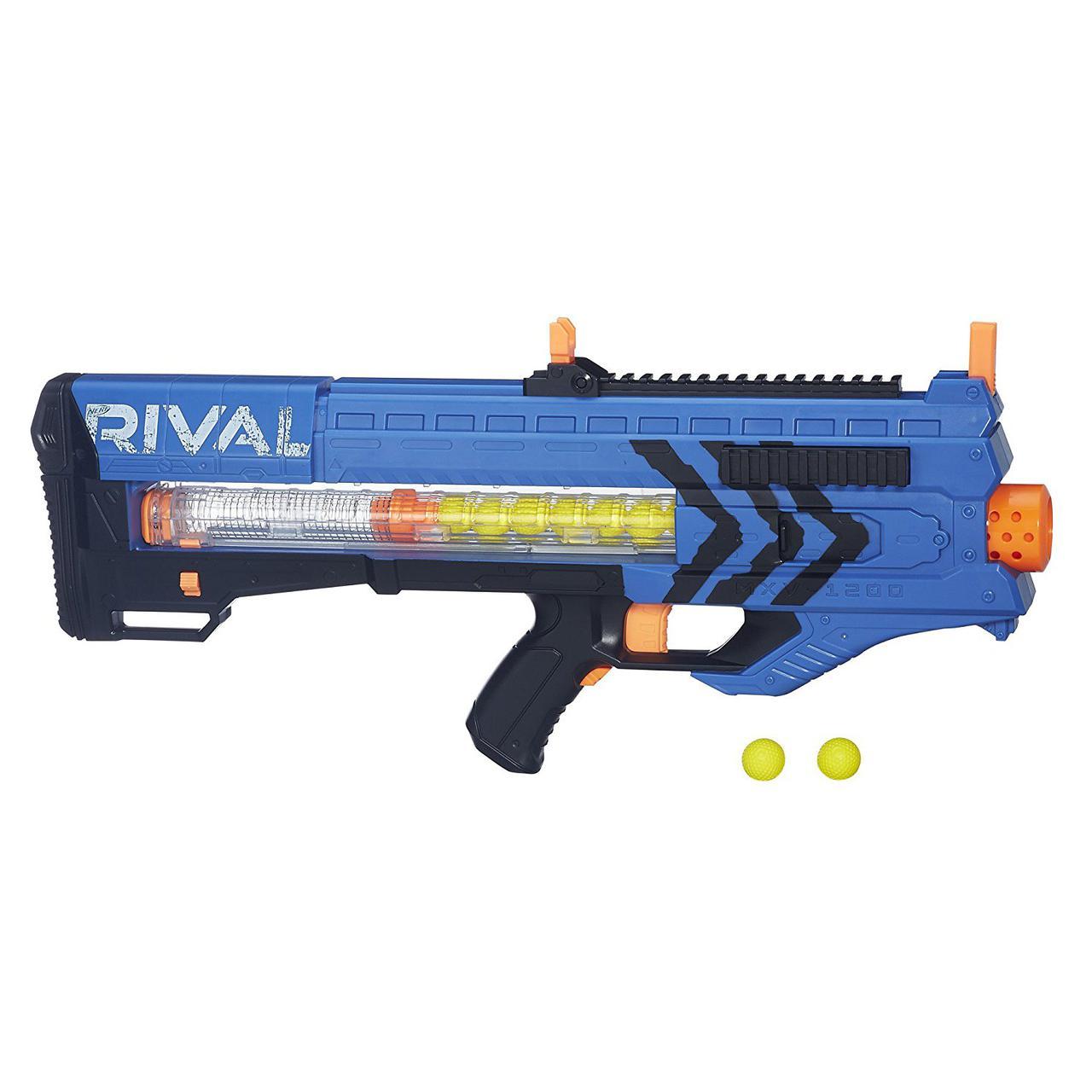 Nerf Бластер нерф райвал зенус синий Соперник Зевса Rival Zeus MXV-1200 Blaster Blue