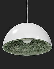 Люстры, светильники,торшеры декорированные стабилизированным мхом