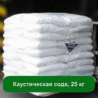 Каустическая сода (едкий натрий сухой) чешуя Польша (25кг.)