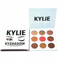 Набор тени для век KYLIE Кайли Jenner Kyshadow 9 отттенков белый набор