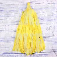 Гирлянды тассел желтый, 35 см, 5 шт