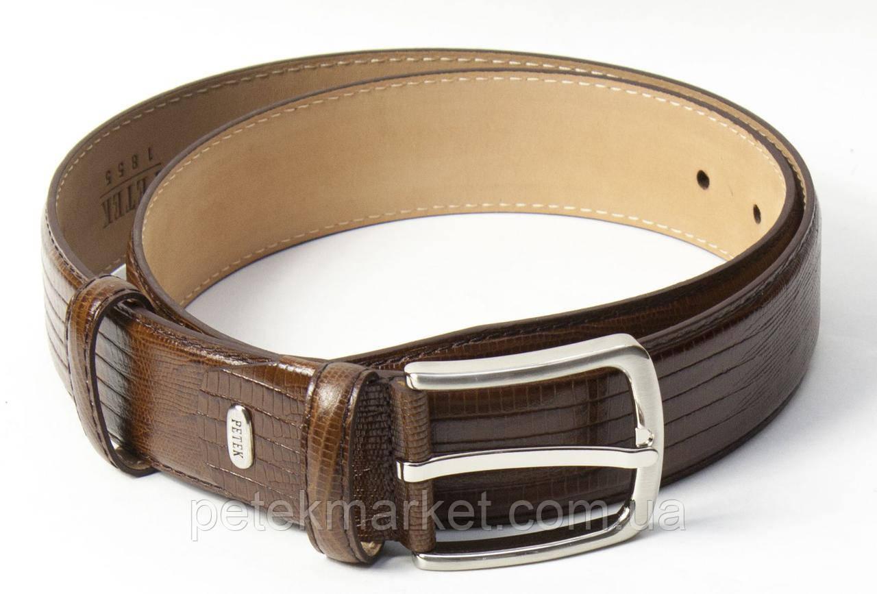 Мужской кожаный ремень Petek 04004111-02