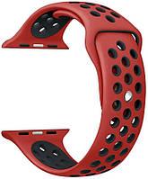 Ремешок ArmorStandart для смарт-часов Apple Watch 38mm Series 1/2 Sport Band Red/Black (3 straps)