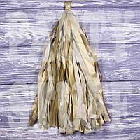 Гирлянды тассел золотые, 35 см, 5 шт