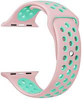 Ремешок ArmorStandart для смарт-часов Apple Watch 42mm Series 1/2 Sport Band Light Pink/ Light Blue (3 straps)