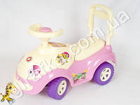 Каталка Луноходик розовая каталка для девочки Орион 174