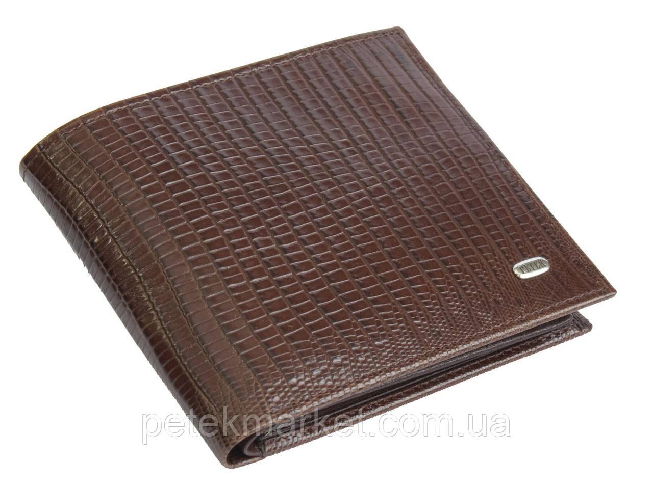 Кожаное мужское портмоне Petek 205
