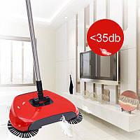 Веник для уборки, свипер, Sweep drag all in one Rotating 360, щетка для пола механическая, веник с щетками