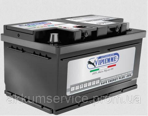 Аккумулятор автомобильный Vipiemme Safe Energy 65AH R+ 630A (B654C)