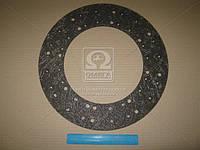 Накладка диска сцепления 395x240x4 (фередо сверленый) (RIDER), ABHZX