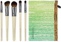 Набор из 5 кистей + косметичка Eco Tools Bamboo Essential Eye Set The Smokey Eye, фото 1