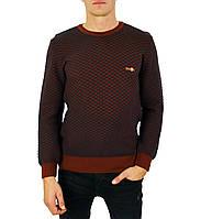 Коричневый свитер мужской, джемпер тонкий KAMENI , фото 1