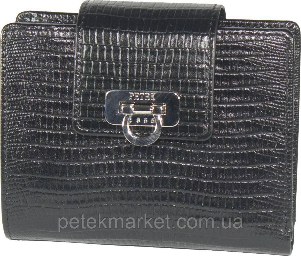 Кожаный женский кошелек Petek 435