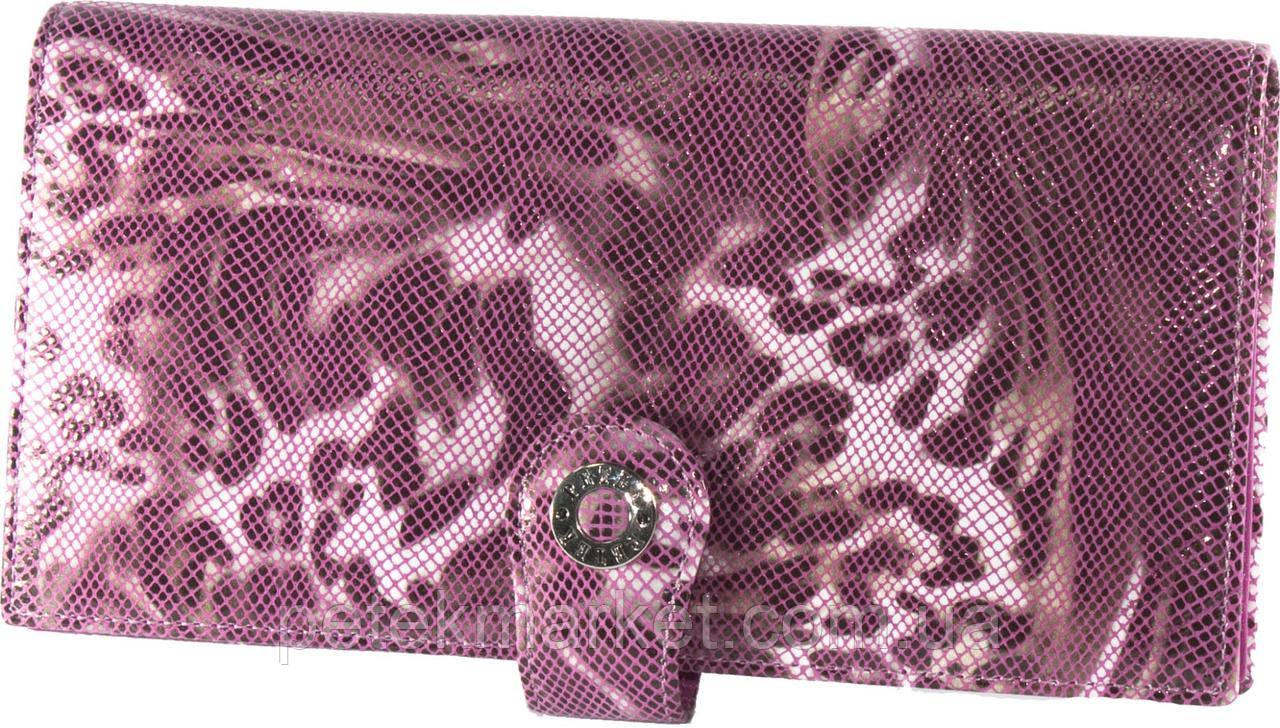 Классический портмоне PETEK 441 Розовый (441-124-44)