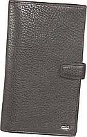 Кожаное мужское портмоне (бумажник путешественника) Petek 557, фото 1