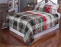 Двуспальное постельное белье - бязь 50 оттенков серого