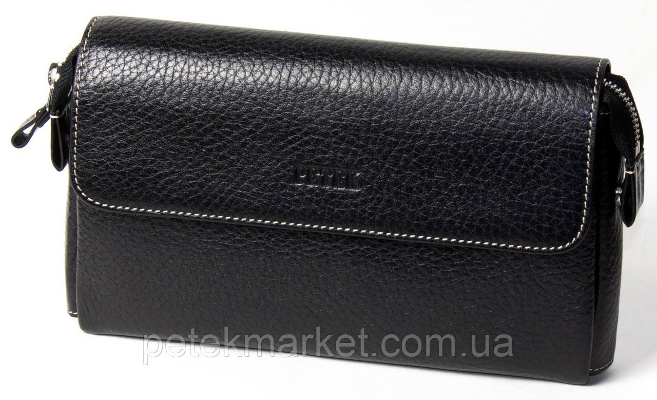 Клатч мужской PETEK 703 Черный (703-46B-KD1)