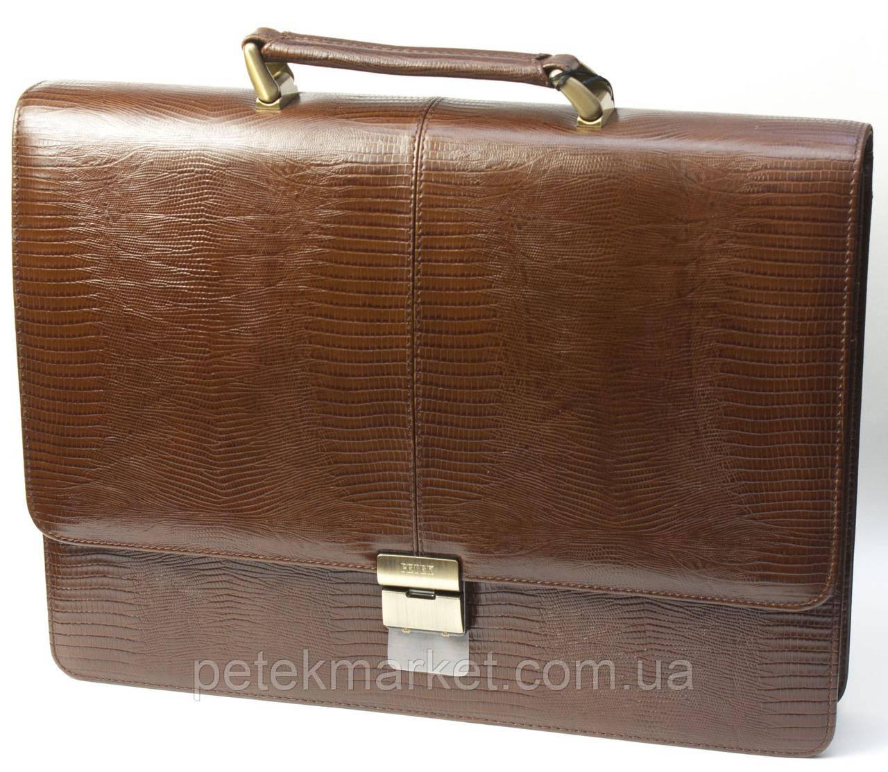 Портфель мужской PETEK 777 Коричневый (777-041-02)