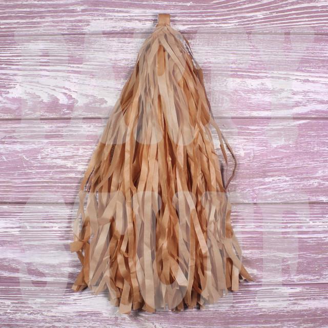 карамельные кисточки тассел