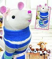 """Набор для шитья куклы """"Мышка"""", чулочно-носочная техника"""