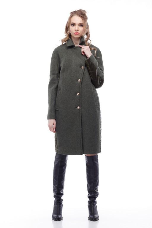 Женское пальто в стиле милитари 4a50be696660a