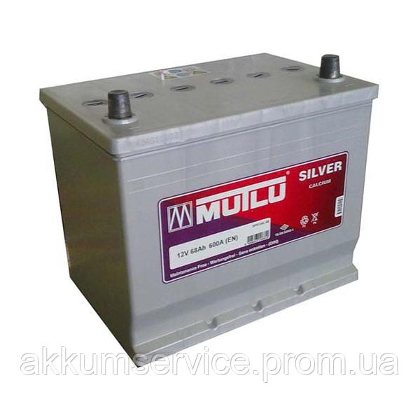 Аккумулятор автомобильный Mutlu Silver Asia 68AH R+ 650A (D23.68.060.C)