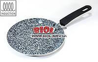 Сковорода блинная 20х2см с антипригарным керамическим покрытием (индукция) Frico FRU-986
