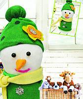 "Набор для шитья куклы ""Снеговичок"", чулочно-носочная техника"