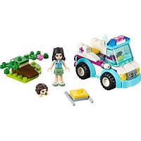"""Конструктор BELA Friends (LEGO Friends) """"Машина ветеринарной помощи"""" 96 деталей, 10534"""